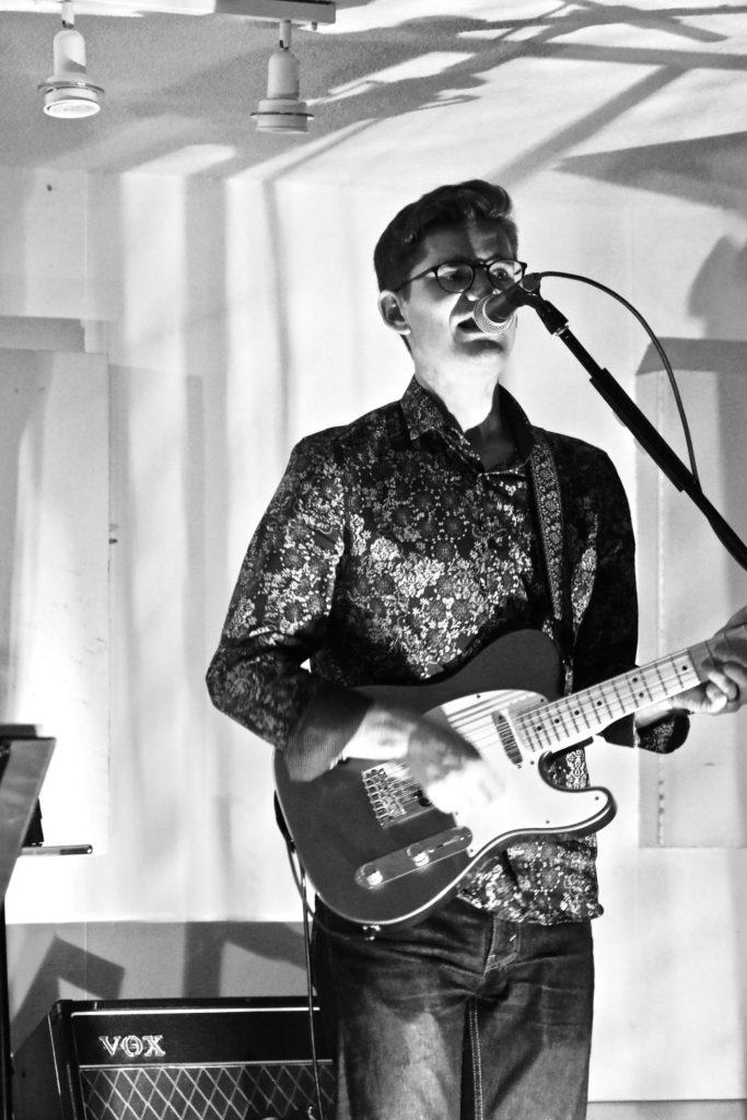John W, guitar