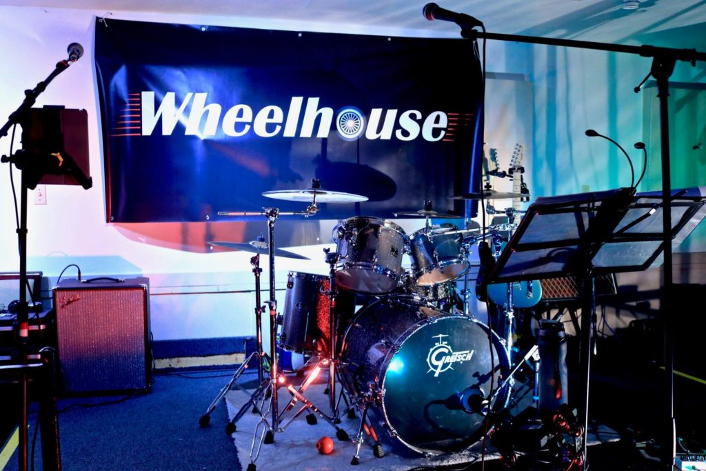 Wheelhouse Stage with Banner